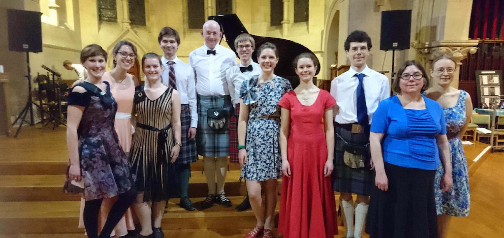 OUSDS at the Oxford-Cambridge Highland Ball 2018