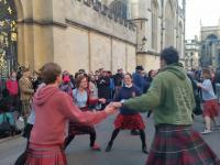 May Morning Dancing on Radcliffe Square 2018